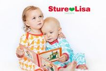 Sture & Lisa - Lillahopp / Eco kid's fashion brand from Sweden. GOTS and Fair Trade certified. Great retro prints! - available at Lillahopp.