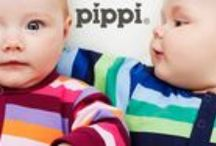 Pippi - Lillahopp / Danish kid's fashion brand, reasonably priced. Available at Lillahopp: colourful burp cloths and premature babies' clothes.