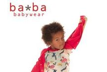 Baba Babywear - Lillahopp / eco kid's fashion from Belgium - stylish, vintage-looking designs in organic quality. Available at Lillahopp online shop.