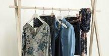 DENIM EN FLEURS / Lookbook mode femme de la collection printemps 2018 de chez Grain de Malice. Shoppez le look en magasin ou sur www.graindemalice.fr
