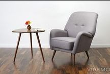 COCKTAIL CHAIR / Few examples of the beautiful 50s/ 60s/ 70s cocktail chairs that we re-upholstered for our clients.
