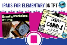 IPads for Elementary on TPT / The purpose of this board is for pinning neat iPad apps appropriate for elementary students.  Looking forward to seeing what cool apps everyone is using!  If you'd like to be added to this collaborative board, email your Pinterest URL to info@watsonworksedu.com.  :)