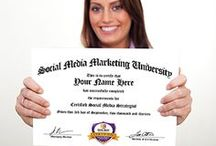 Social Media Certifications / Browse our Individual Courses, and choose from any of our Award Winning Training Courses! http://socialmediamarketinguniversity.com/all-programs/
