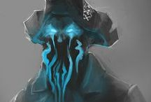 Concepts from the Deep / Concept arts from the upcoming Artifex Mundi game Nightmares from the Deep: Davy Jones