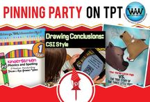 Pinning Party on TPT / If you would like to be added to this board, follow it, and then email us at info@watsonworksedu.com requesting to be added to this collaborative board. We look forward to pinning with you!