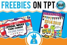 FREEBIES on TPT! / This collaborative board is for TPT sellers to pin FREE products available on TPT. If interested in pinning to this board, follow it and then send us an email at info@watsonworksedu.com and request to be added. Then, come back and pin as much as you like! :)