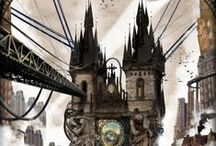 We love steampunk! / Inspirational steampunkish style!