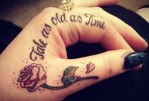 Feminine Tattoos / tattoos for women.  girly, pretty, feminine tattoos / by Tatyanna Prant