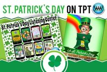 St. Patrick's Day on TPT / This collaborative board is for TPT sellers to pin free and paid St. Patrick's Day products & ideas. If interested in pinning to this board, follow it and then send us an email at info@watsonworksedu.com and request to be added. Then, come back and pin as much as you like! :)