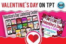 Valentine's Day on TPT / This collaborative board is for TPT sellers to pin free and paid Valentine's Day products & ideas. If interested in pinning to this board, follow it and then send us an email at info@watsonworksedu.com and request to be added. Then, come back and pin as much as you like! :)