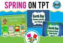 Spring on TPT / This collaborative board is for TPT sellers to pin free and paid spring-themed products. If interested in pinning to this board, follow it and then send us an email at info@watsonworksedu.com and request to be added. Then, come back and pin as much as you like! :)  Please keep your pins relevant to the board's subject.