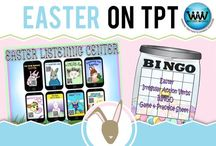 Easter on TPT / This collaborative board is for TPT sellers to pin free and paid Easter products. If interested in pinning to this board, follow it and then send us an email at info@watsonworksedu.com and request to be added. Then, come back and pin as much as you like! :)