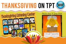 Thanksgiving on TPT / This collaborative board is for TPT sellers to pin free and paid Thanksgiving products. If interested in pinning to this board, follow it and then send us an email at info@watsonworksedu.com and request to be added. Then, come back and pin as much as you like! :)