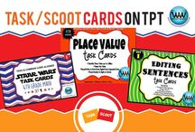 Task/SCOOT Cards on TPT / This collaborative board is for TPT sellers to pin free and paid task cards/SCOOT/review games. If interested in pinning to this board, follow it and then send us an email at info@watsonworksedu.com and request to be added. Then, come back and pin as much as you like! :)