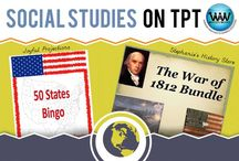 Social Studies on TPT / This collaborative board is for TPT sellers to pin free and paid social studies products & ideas. If interested in pinning to this board, follow it and then send us an email at info@watsonworksedu.com and request to be added. Then, come back and pin as much as you like! :)