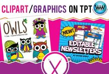 Clipart/Graphics on TPT / This collaborative board is for TPT sellers to pin free and paid clipart/graphics products & ideas. If interested in pinning to this board, follow it and then send us an email at info@watsonworksedu.com and request to be added. Then, come back and pin as much as you like! :)