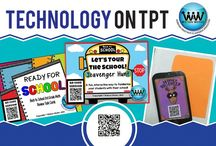 Technology on TPT / This collaborative board is for TPT sellers to pin free and paid products & ideas for using technology in the classroom. If interested in pinning to this board, follow it and then send us an email at info@watsonworksedu.com and request to be added. Then, come back and pin as much as you like! :)