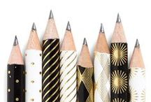 paper and pencils / by style