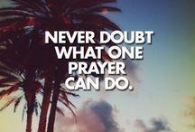 Words, Prayers