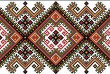 Wzory ludowe haft krzyżykowy