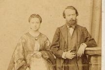 Vintage people photos / casal c. 1892