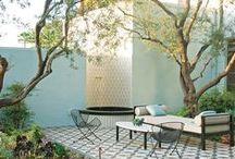 garden and balcony