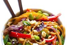 // asian food