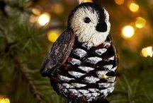 новогодние игрушки / красивые игрушки на елку