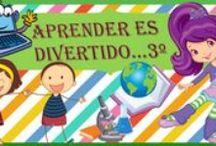 Aprender es divertido 3º / Actividades, fichas y juegos para niños de tercero de Primaria