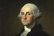 "George Washington / ""First in war, first in peace, and first in the hearts of his countrymen"".  / by Susan Blakey"