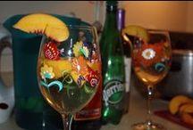 Bottoms up! / Boozy drinks