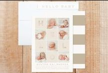 Birth Announcements + New Baby / custom modern birth announcements, matching accessories and personalized gifts for your new baby | designed by fat*fa*tin | www.zazzle.com/fat_fa_tin* | www.zazzle.com/fatfatin_mini_me | www.zazzle.com/fatfatin_box* | www.zazzle.com/fatfatin_design* / by Fatfatin Art