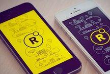 Mobile UI | Splashscreens / Mobile Design Inspiration / by Timoa