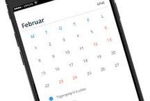 Mobile UI | Calendar / Mobile Design Inspiration