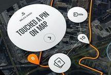 Tablet UI | Maps / Tablet Design Inspiration