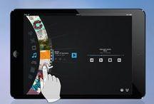 Tablet UI | Navigation / Tablet Design Inspiration