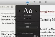 Tablet UI | Popovers / Tablet Design Inspiration