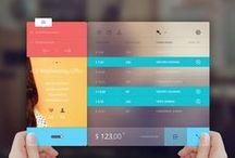 Tablet UI | Layouts / Tablet Design Inspiration