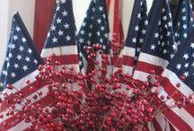 Fourth of July Celebrations / Stylish and fabulous Fourth of July celebration ideas