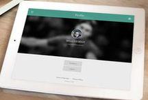 Tablet UI | Profiles / Tablet Design Inspiration