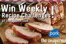 Perfect Pork Inspiration / It's time to be creative and share your delicious pork recipes! Visit our Town Hall Giveaway during October and you could win weekly recipe challenges from Pork® Be inspired®! The more recipes you share, the better your chances of winning! ENTER THE GIVEAWAY HERE:  http://ow.ly/e7N78 For cooking tips and recipe inspiration, be sure to visit Pork Be inspired on Pinterest at www.pinterest.com/porkbeinspired! Pork lets you create endless flavor combinations, so get cooking and be inspired!