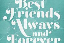 Biffles / Best friend things