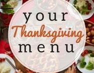 Thanksgiving Table / Yes, we have recipes for turkey, mashed potatoes, cranberry sauce, stuffing, pumpkin pie and more - but also recipes for casseroles, desserts and other dishes you can make for Thanksgiving!