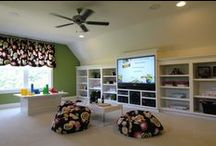 Bonus Room Ideas / These are the ideas I am going to refer to when we finish our bonus room.