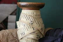 Antique Sewing Finds / Old / by Lucy Fleming
