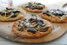 Pizzas + Pastas / Pizza, pasta, flat bread, calzones, gnocchi and more