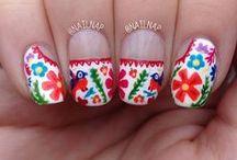 Nail Art / Mexi-style nail art! / by Kathy Cano-Murillo, Crafty Chica