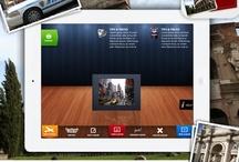 Tablet UI | Tabbars / Tablet Design Inspiration