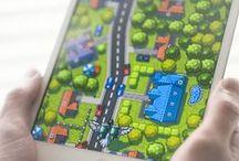 Tablet UI | Games / Tablet Design Inspiration