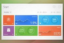 Tablet UI | Stats / Tablet Design Inspiration